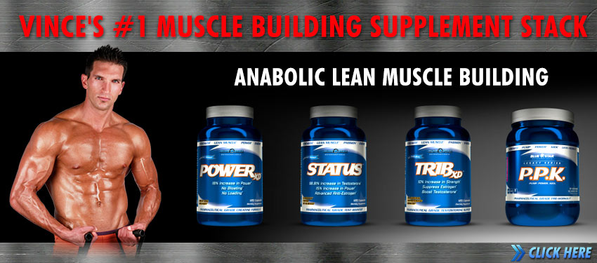 Vince's #1 muscle building supplement stack