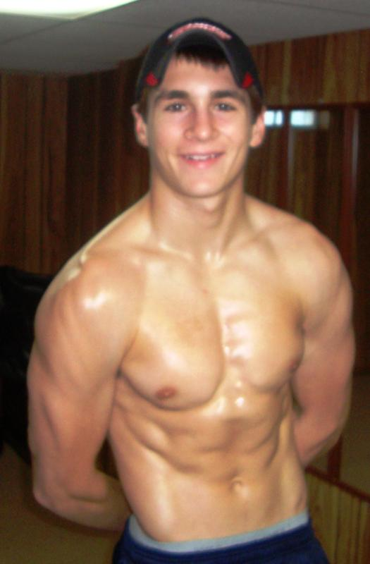 Teen Boy Muscle Building