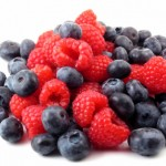 Fresh berries in a pile