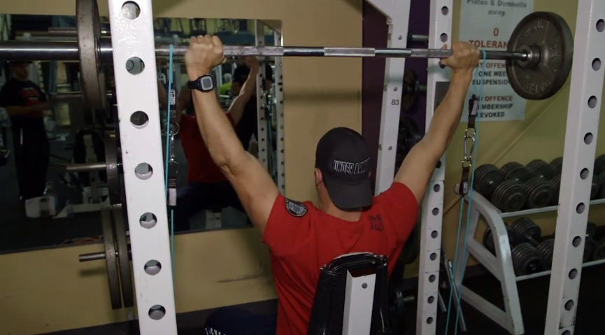 SHOULDER-PRESS-BANDS