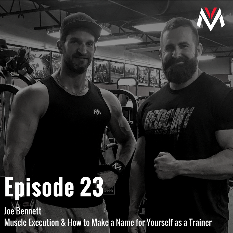 Joe Bennett: Muscle Execution & How to Make a Name for Yourself as a
