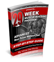 Advanced 29 Week Max Power Workout Program