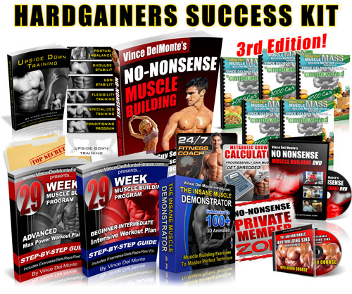 buy no nonsense muscle building vince