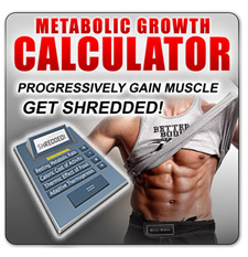 Metabolic Growth Calculator for maximum bulk fast