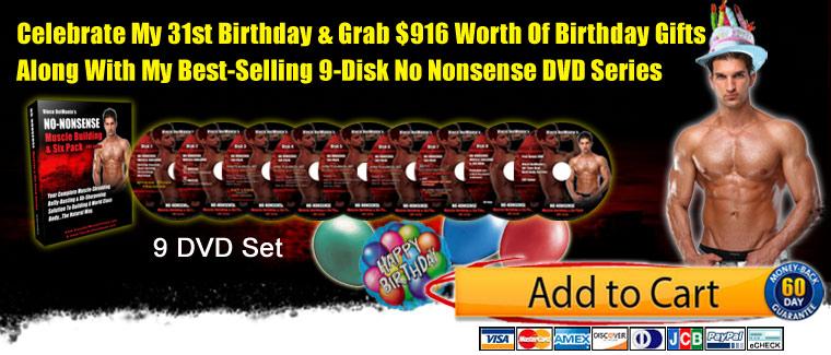48-Hour DVD Birthday Promotion