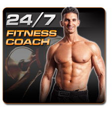 A fitness coach at your disposal!