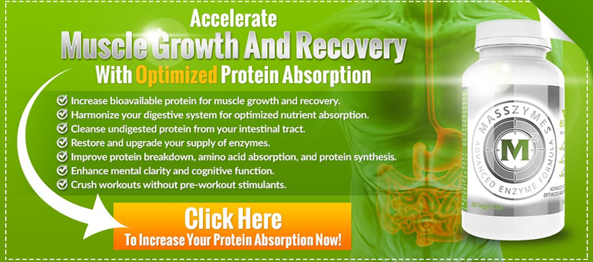 Accelerate Muscle growth and recovery with optimized protein absorption