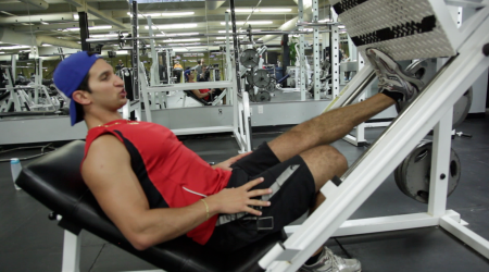 build leg muscle fast with the 61225 strength and
