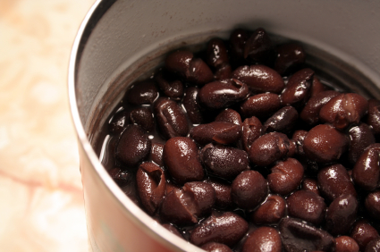 Can of Black Beans