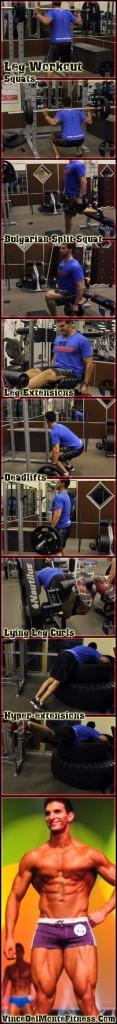Massive Leg Muscle Building Exercises
