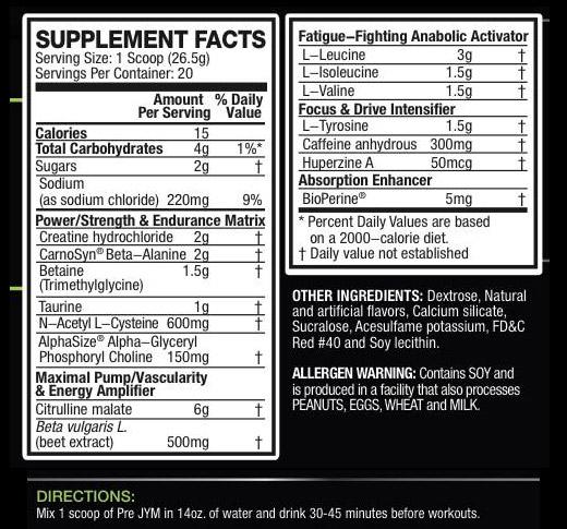 Pre-Jym-Ingredients